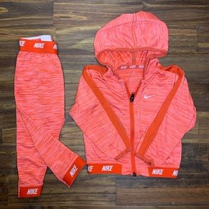 Nike Pink Girl Track Suite 18mos